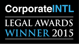 Corporate INTL Award Winner