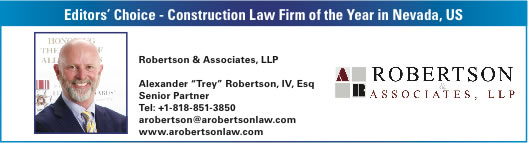 Nevada Construction Law Firm Award